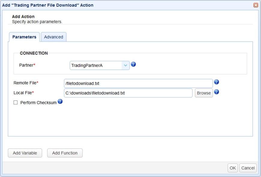 set up server to server file transfer - 11-1