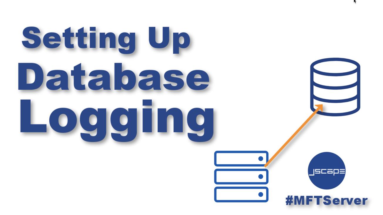 setting up database logging