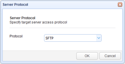 sftp server protocol for load testing
