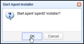 start agent installer