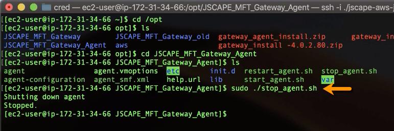 stop mft gateway agent linux 2-1