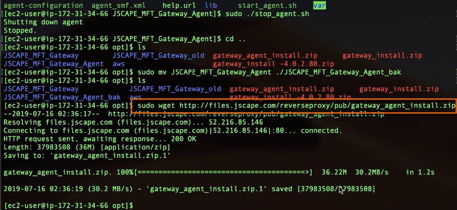 sudo wget jscape mft gateway agent zip download-1