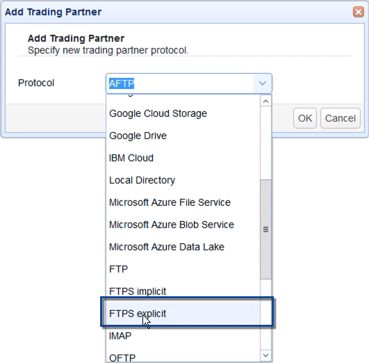 sync remote ftp to s3 - select ftps trading partner
