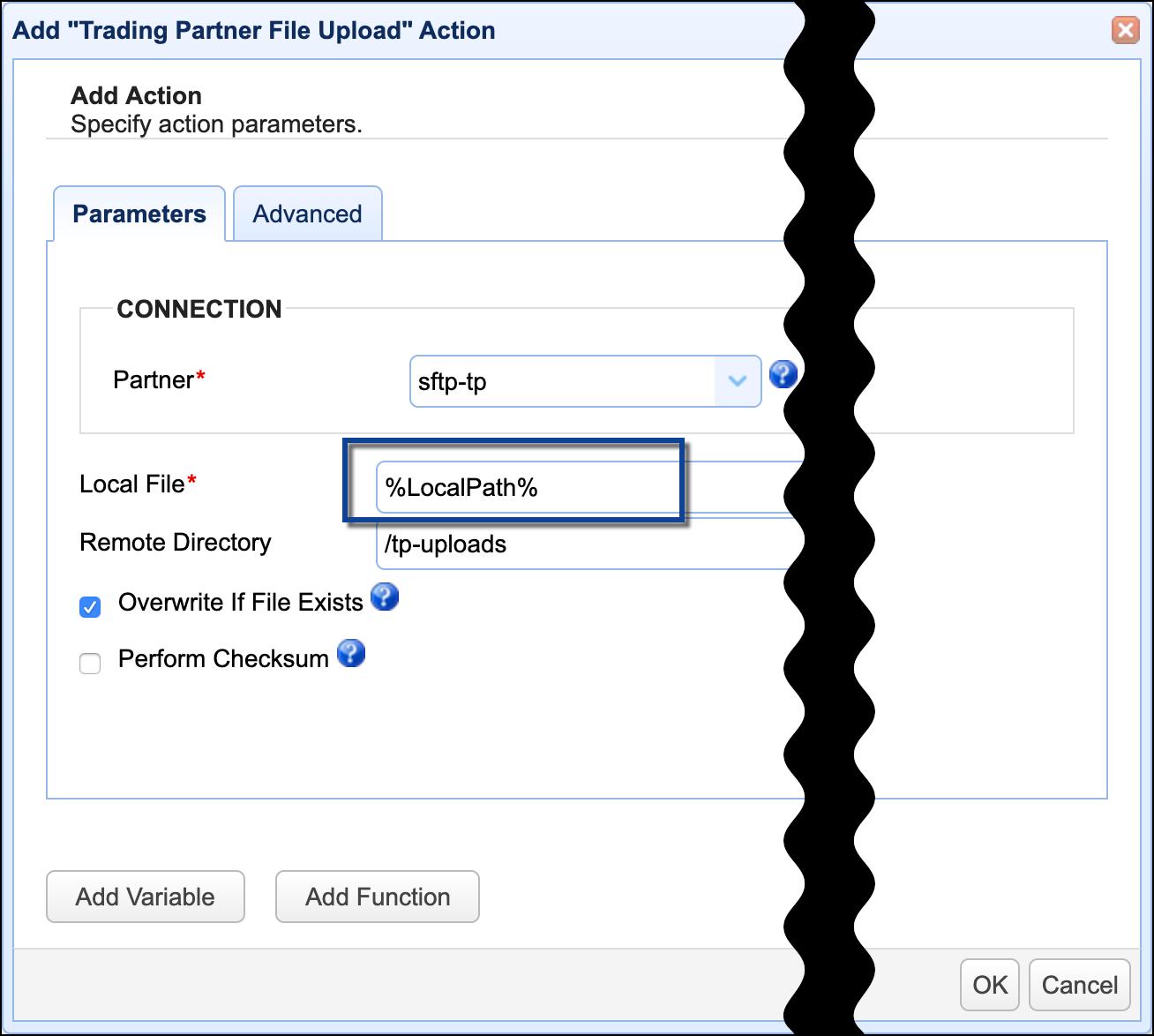 trading partner file upload-2