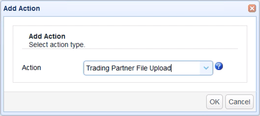 trading partner file upload