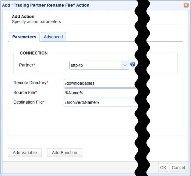 trading partner rename file parameters