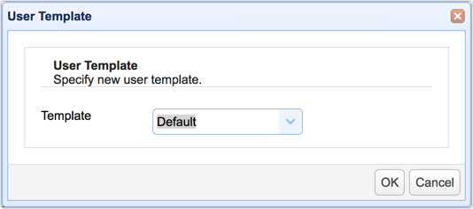 user template