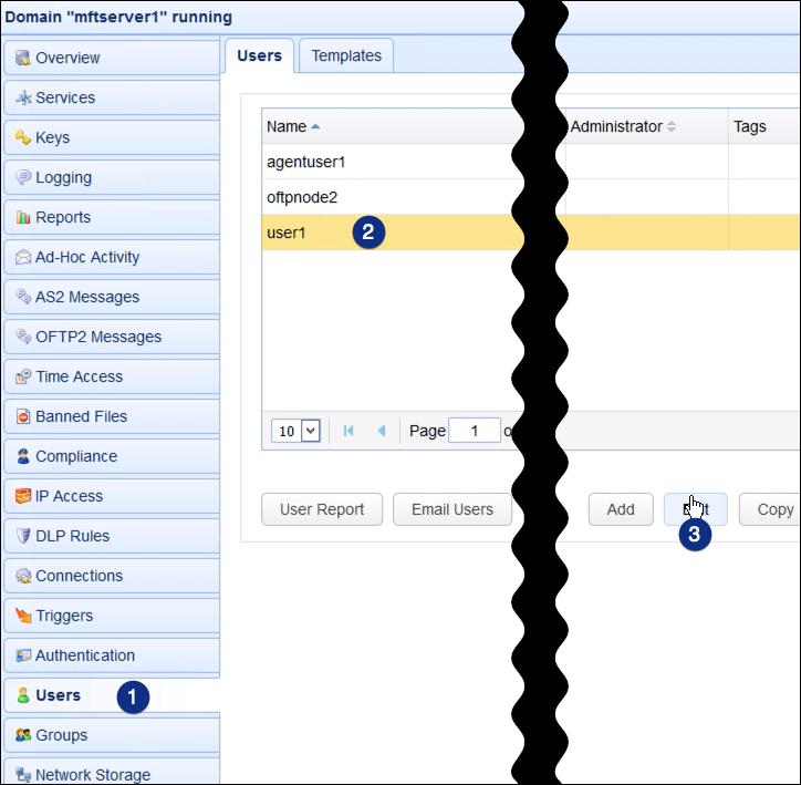 webdav network storage edit user