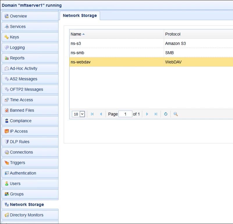 webdav network storage new