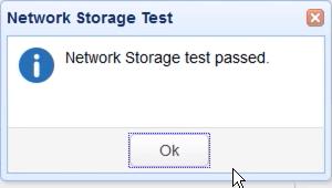 webdav network storage test
