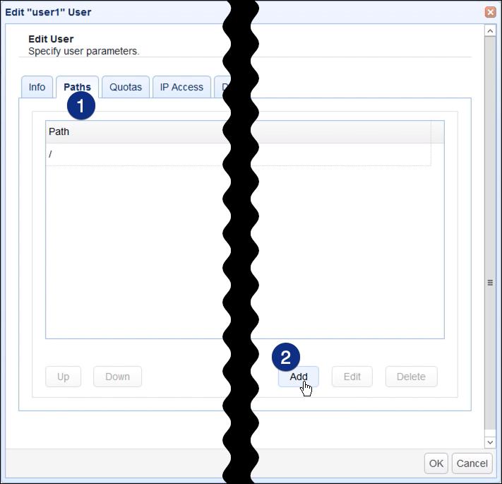 windows smb share as network storage for file transfer server - 11