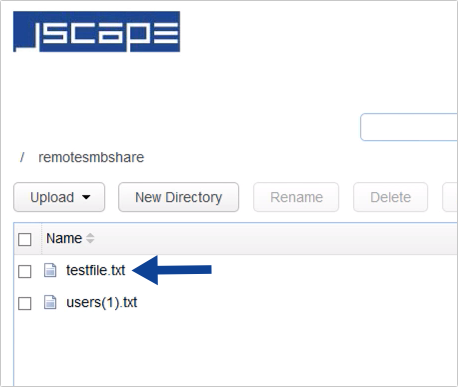 windows smb share as network storage for file transfer server - 22-1