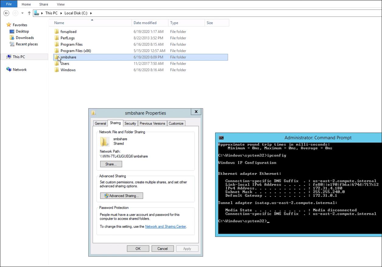 windows smb share as network storage for file transfer server - 23