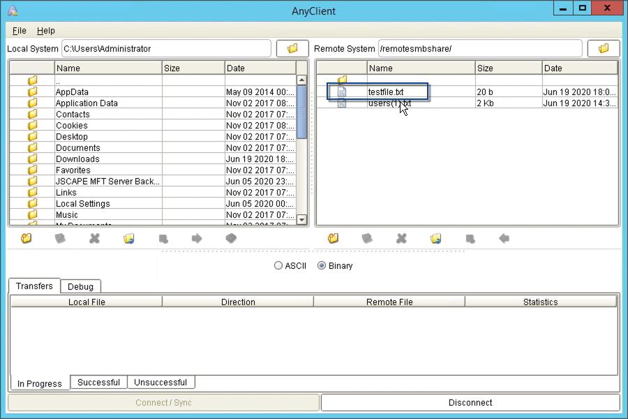 windows smb share as network storage for file transfer server - 26