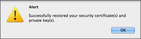 firefox-successfully-imported-client-certificate