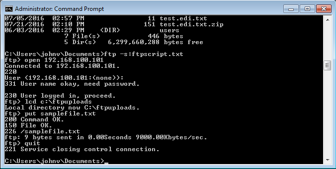 10+ frequently using ftp commands with example unix/linux.