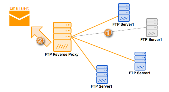 Monitoring Reverse Proxy Services
