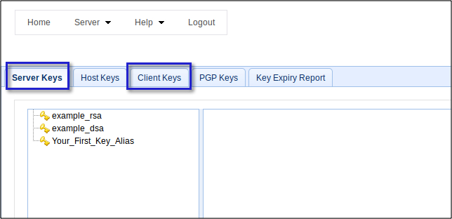 server-and-client-keys