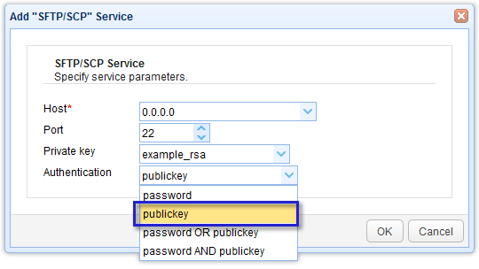 Setting Up Public Key Authentication Between Trading Partners