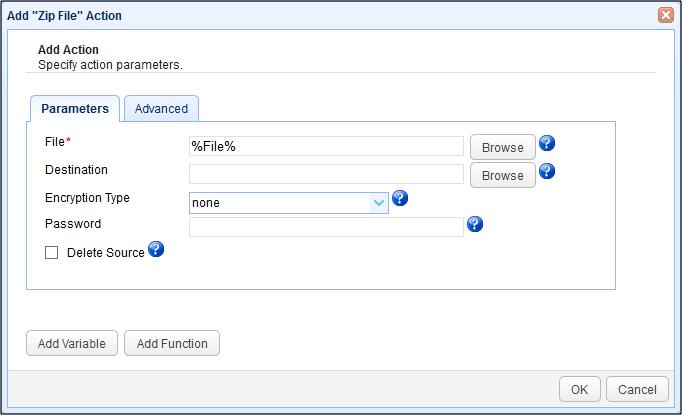 zip-file-parameters